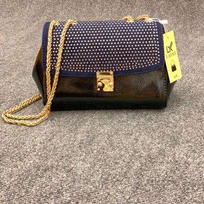 Brown smart designer sling bags image 1