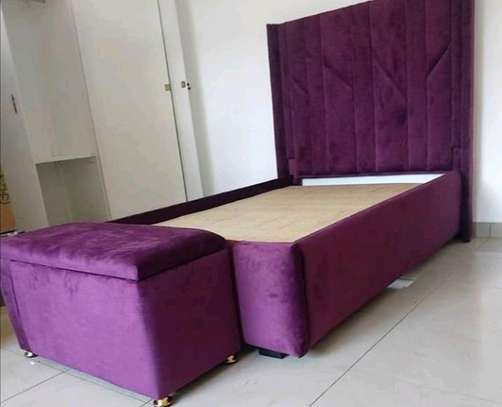 PURPLE BED FOR SALE IN NAIROBI /KINGSIZED BED FOR SALE image 1