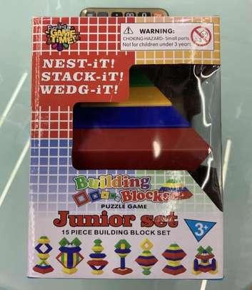 Junior Set 15 Pc Building Block Set Educational Toy image 4