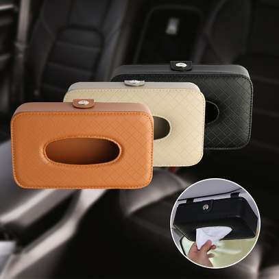 Car Tissue Box Holder image 1