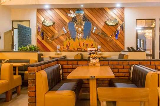 Restaurant /Fast foods booth /lounge seats image 3