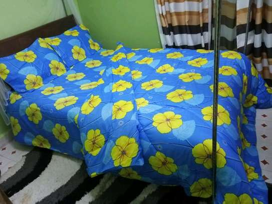Quality cotton duvets with one pillow case image 13