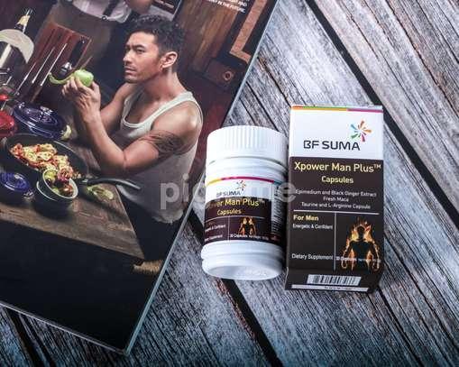 Xpower Man Plus Capsules; 30 capsules per bottle; by BF Suma image 2