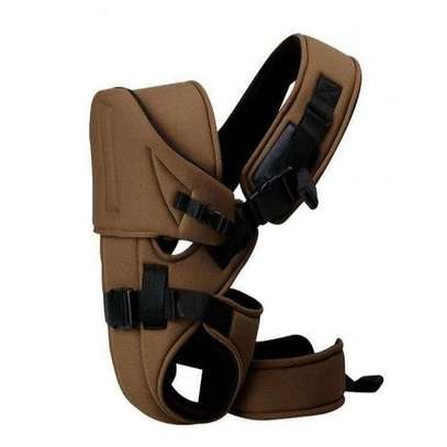 Generic Baby Carrier With a Hood (Brown) image 2