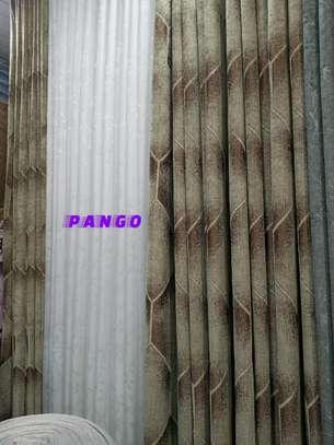 Elegant chocolate brown Curtains image 3