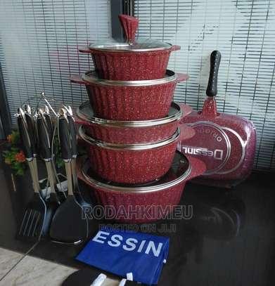 21pc Granite Cookware Set image 1