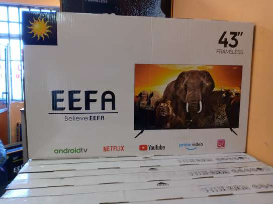 EEFA 43inches smart Android frameless tv image 1