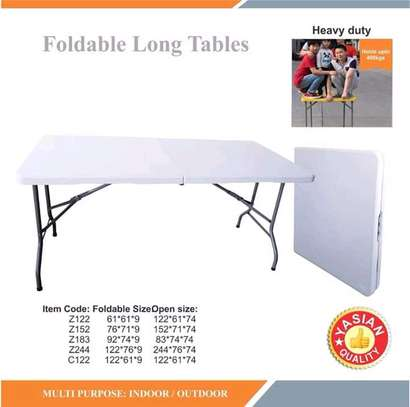 Foldable tables available for sale imported
