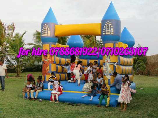 kenya bouncing castle slide castle trampoline clowns mascots for hire