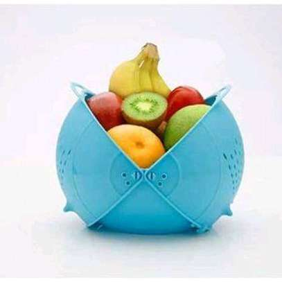 *Vegetable fruits bowl and strainer . image 3