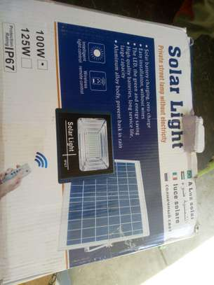 100 watts Solar led floodlights