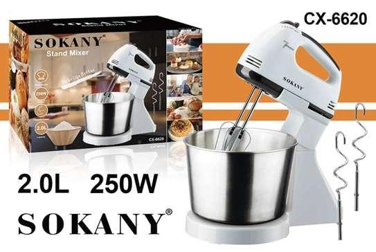 Sokany mixer with bowl image 1