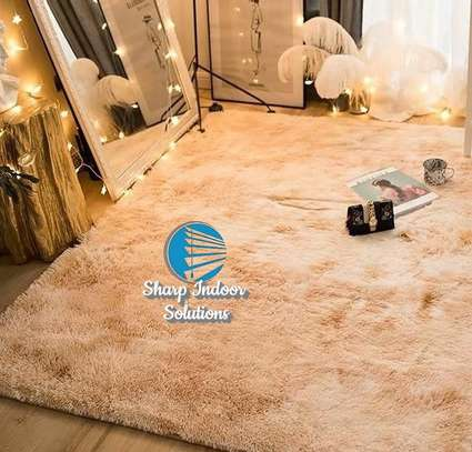 Super fluffy soft carpets(7*10) image 9