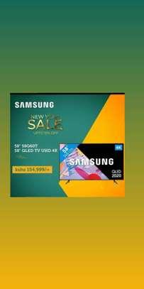 "Samsung 58"" QLED TV UHD 4K 58Q60T image 1"