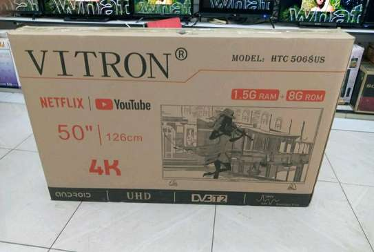 Offer !! BRAND NEW Vitron 50 inch smart android 4k TV image 1