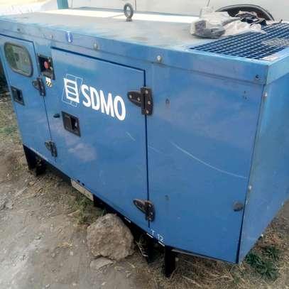 Ex UK 30kva power generator image 1