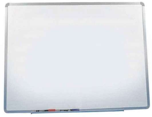 4ft x 2ft magnetic dry erase whiteboard image 1