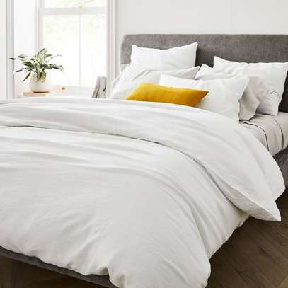4PC WHITE COTTON DUVET COVER-4*6