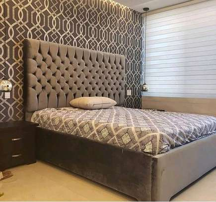 5*6 tufted bed image 1