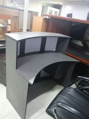 Curved Reception Office Desk image 7