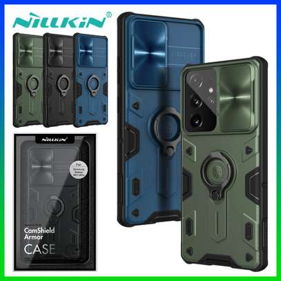 Nillkin Hard Armored CamShield Slide Camera Cover for Galaxy S21 Plus S21 Samsung S21 Ultra Camera Protection Case image 2