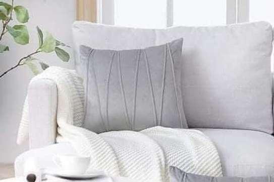 Velvet Throw Pillow Cover image 1