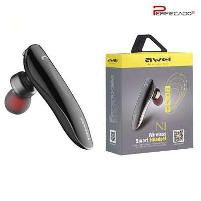 AWEI N1 Bluetooth Headphones Wireless Earphone Cordless Headset, Mic image 2