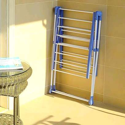 Outdoor clothing drying rack image 3