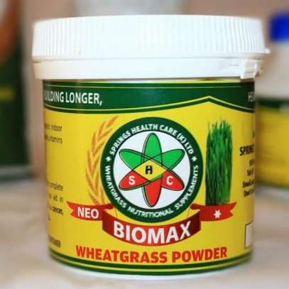 Neo-biomax purely healthy and organic wheatgrass powder immunity and energy boost image 2