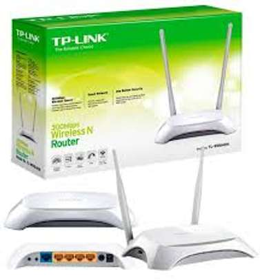 TP-Link TL-WR840N Wireless Router - White