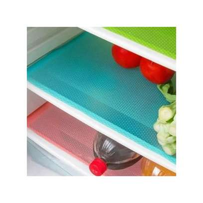 Colorful Fridge Mats - 4 Pieces image 2