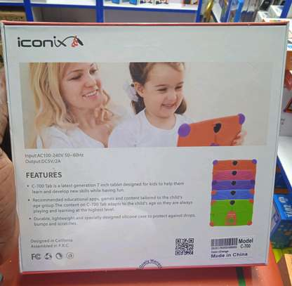 Iconix Kids Tablets 8gb 512mb ram, ready Games+Play Store image 1