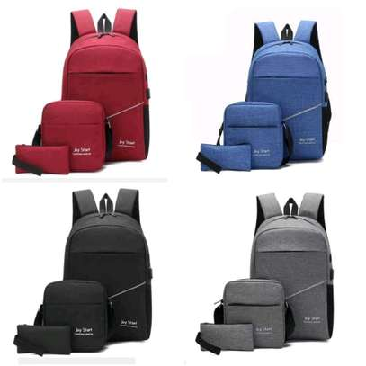 3 IN 1 LAPTOP BAG WITH USB CHARGING CABLE WHOLESALERS AND RETAILERS IN KENYA image 6