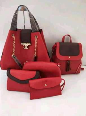 5 in 1 Pure Leather Handbags