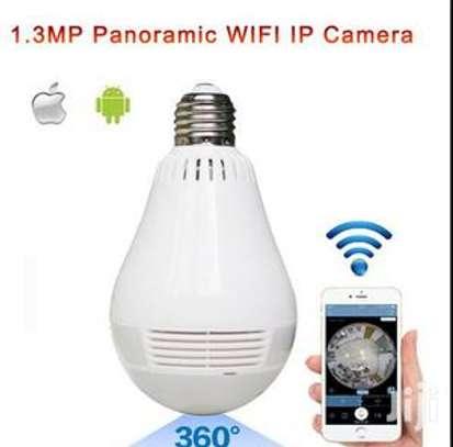 Bulb CCTV Camera image 1