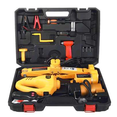3 Ton Electric Jack and Electric Wrench Combo Kit Box
