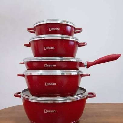 Dessini NEW Dessini 12pcs Italy Cookware Non Stick High Class image 1