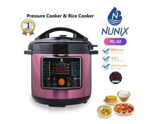 Nunix 5ltr electric pressure cooker image 1