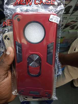Infinix note 7 Armoured Covers -various colours in shop+Delivery service image 1