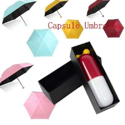 1pc Capsule Umbrella With Pill Package image 1