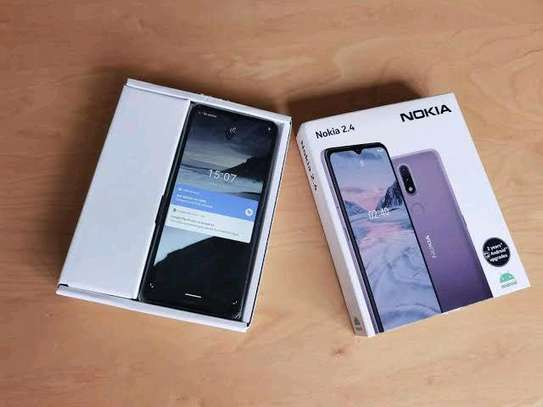 Nokia 2.4 New 64gb 3gb ram 4500mah battery+Delivery image 1
