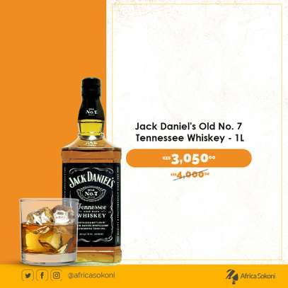 Jack Daniel's Old No 7 Tennessee Whiskey 1L