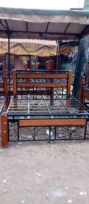 6*6 mix mahogany+ metallic beds. image 2