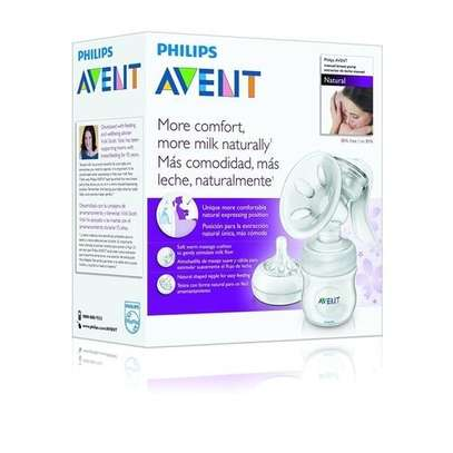 AVENT Manual Breast Pump - Clear image 2