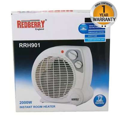 Redberry Adjustable Thermostat Room Heater image 3