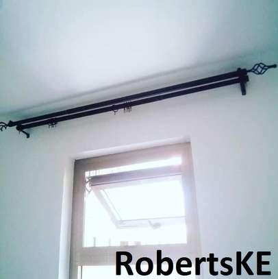 strong curtain rods image 1