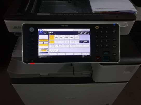 RICOH MPC3503 MOST REASONABLE HIGH SPEED FULL COLOR PHOTOCOPIER/PRINTER/SCANNER WITH FREE EXTRA TONER SET image 3