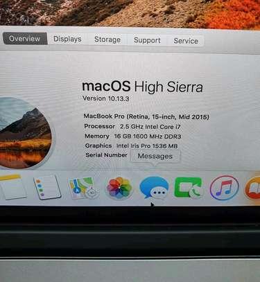 Macbook Pro 2015/Core i7/1tb ssd/15 image 2
