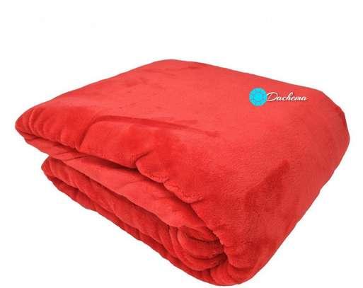 red coral fleece blanket image 1