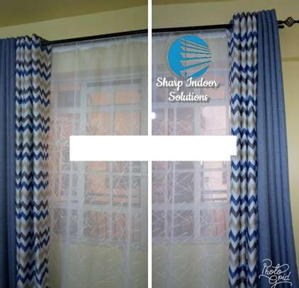 decorative double sided curtains image 4